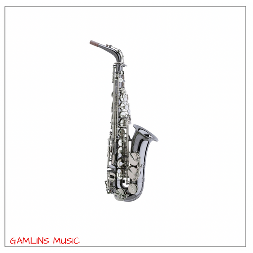 Trevor James Horn Classic II Alto Saxophone Outfit - Black with Silver Keys