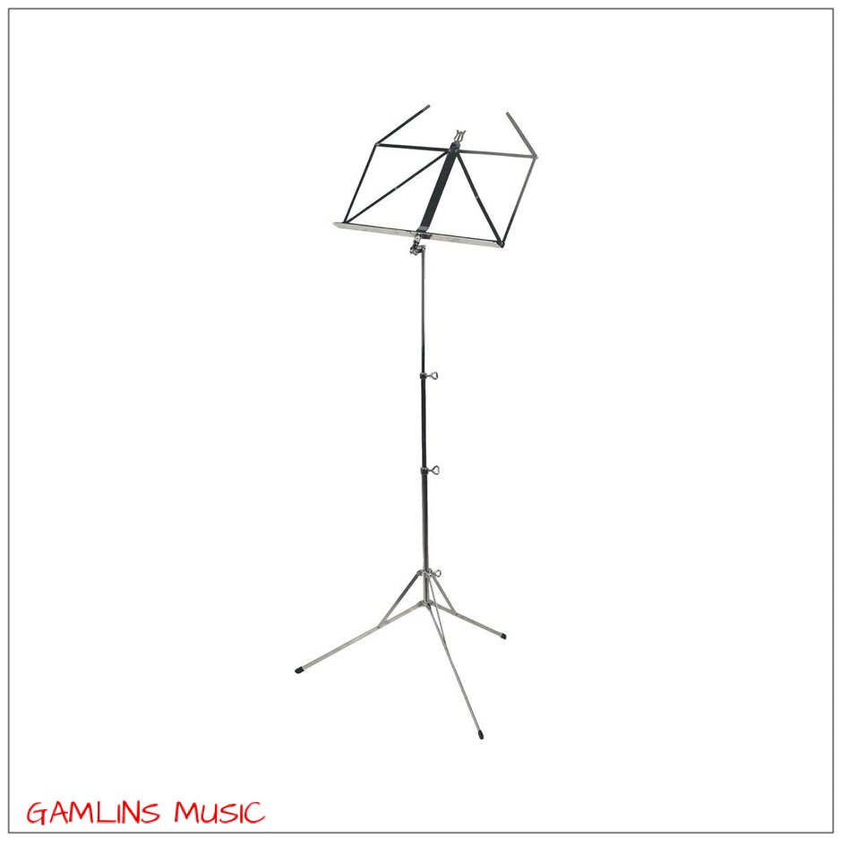 Gewa Music Stand - Nickel Plated Made in Germany