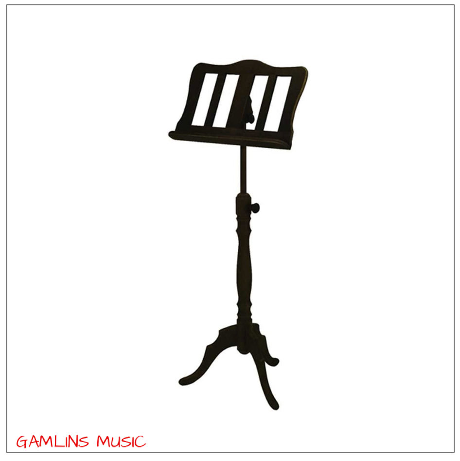 Gewa Solid Wood Music Stand - Black