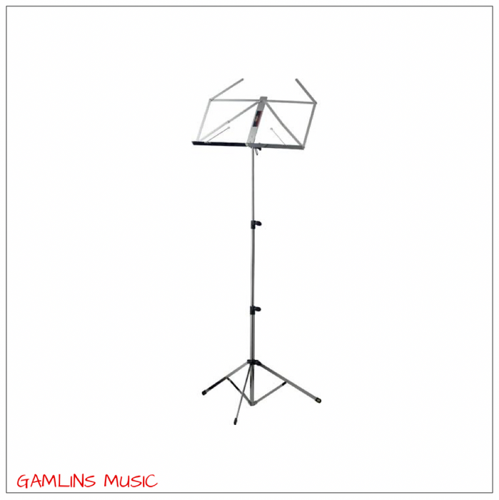 Stagg MUS-C4 Sheet Music Stand - Chrome