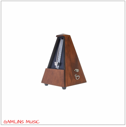 Wittner Mechanical Metronome With Bell - Walnut