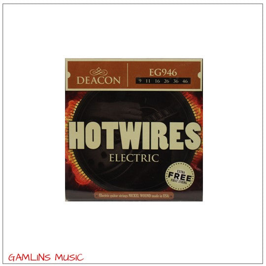 Deacon Hotwires Electric Guitar Strings - EG946 - 9-46