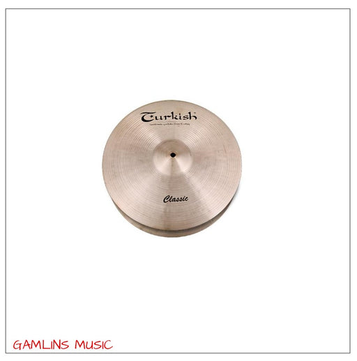 Turkish Classic 14 Inch Medium Hi Hat Cymbals