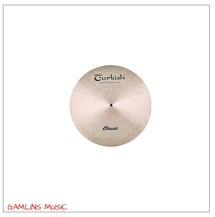 Turkish Classic 16 Inch Medium Crash Cymbal