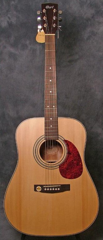 Cort Earth 70 Acoustic Dreadnought  Guitar - Natural Satin