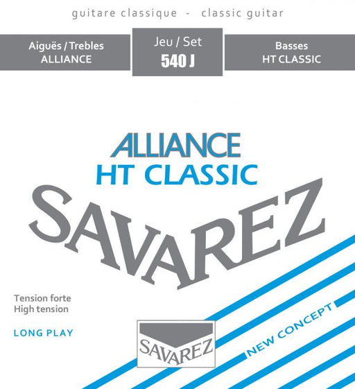 Savarez 540J HT Classic Classical Guitar Strings - High Tension