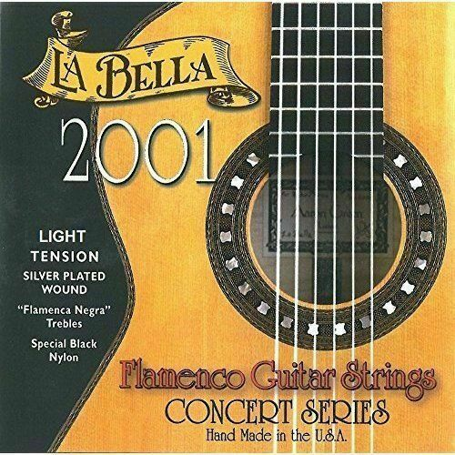 La Bella 2001 Flamenco Guitar Strings - Light Tension