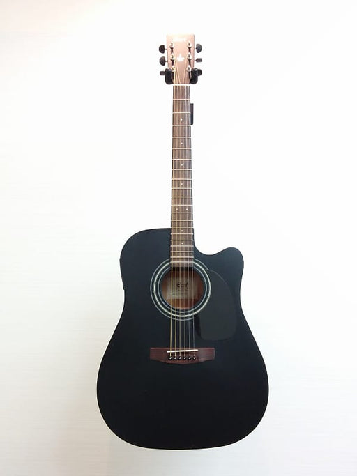 Cort MR 100 F BK Electro Acoustic Guitar - Black