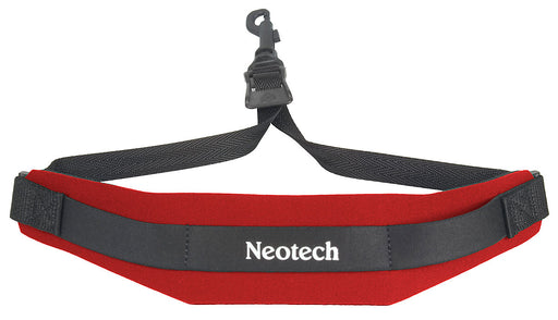Neotech Soft Sax Strap - Swivel Hook - Red