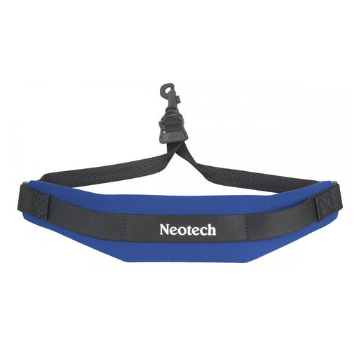 Neotech Soft Sax Strap - Swivel Hook - Blue