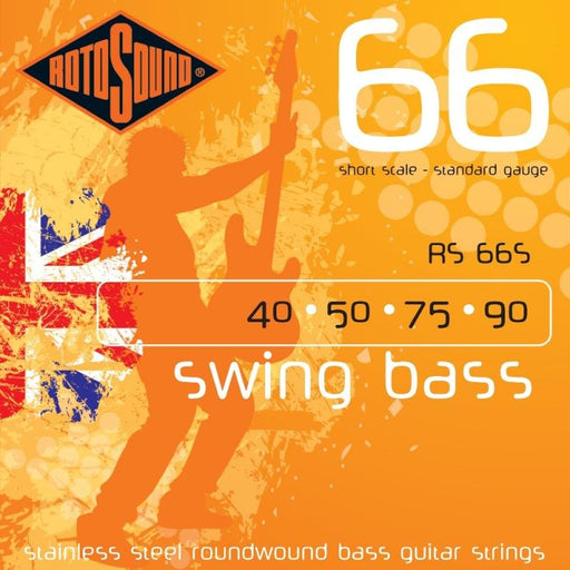 Rotosound RS66M Swing Bass 66, Medium Scale, Standard, 40-90
