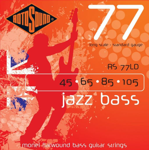 Rotosound RS77LD Jazz Bass, Long Scale, Standard, 45-105
