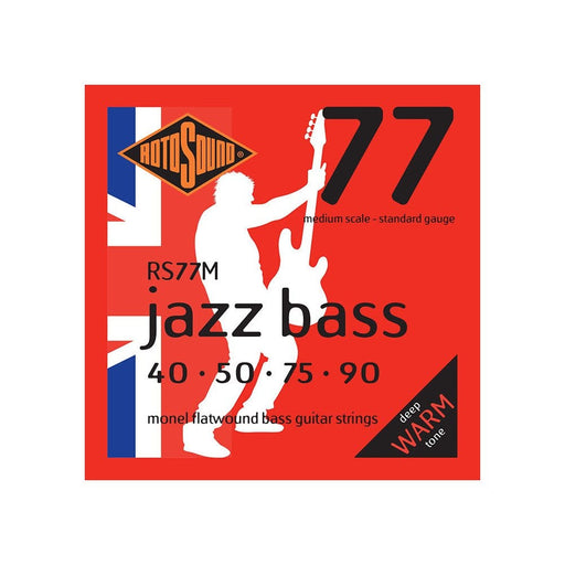 Rotosound RS77M Jazz Bass, Medium Scale, Standard, 40-90