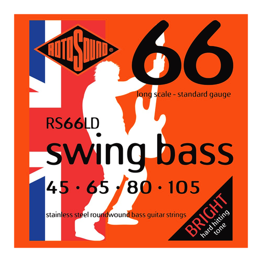Rotosound RS66LD Swing Bass 66, Long Scale, Standard, 45-105