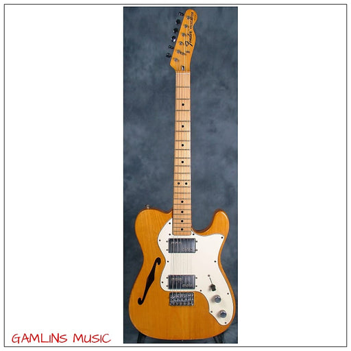 VINTAGE 1973 Fender Telecaster Thinline - Natural