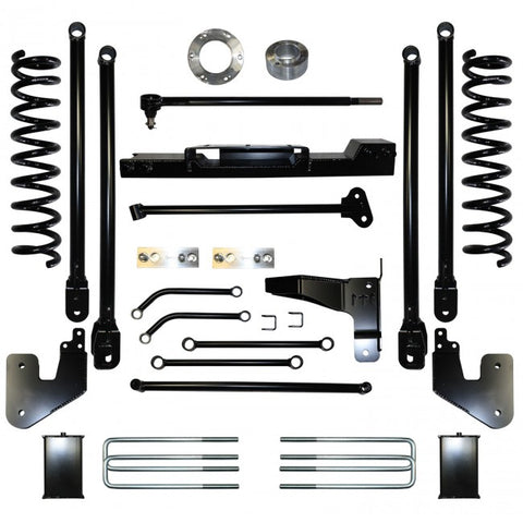 "2013-2017 RAM 3500 4WD 10"" LONG ARM 4LINK KIT"