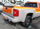 GM HD Trucks Rear Bumper 2500 & 3500 without back up sensors, 2007-2010