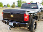 GM Trucks Rear Bumper 1500 without back up sensors, 2007.5-2013