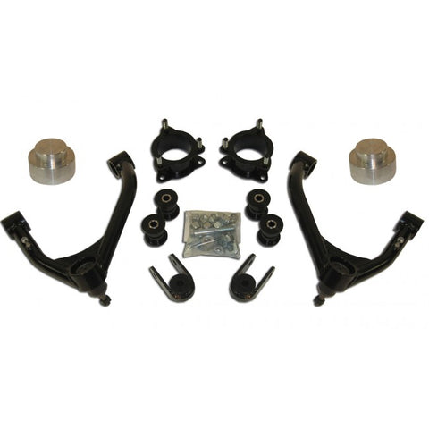 "2007-2013 4"" 2WD Chevy/GMC Tahoe, Suburban, Avalanche 1500 Lift Kit, 6-Lug - 4.0"" Front / 1.5"" Rear"