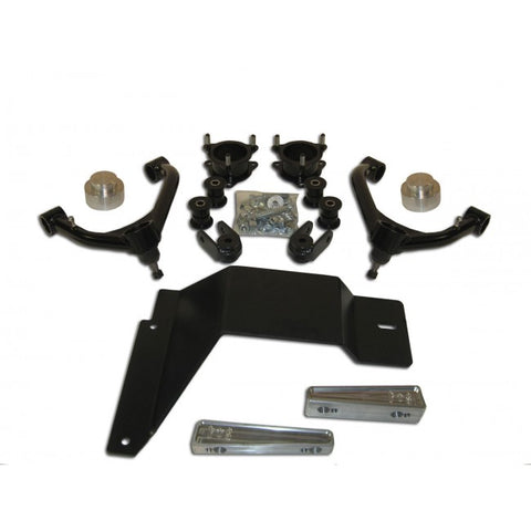 "2007-2013 4"" 4WD Chevy/GMC Tahoe/Chevy Suburban, Avalanche 1500 Lift Kit, 6-Lug - 4.0"" Front / 1.5"" Rear"