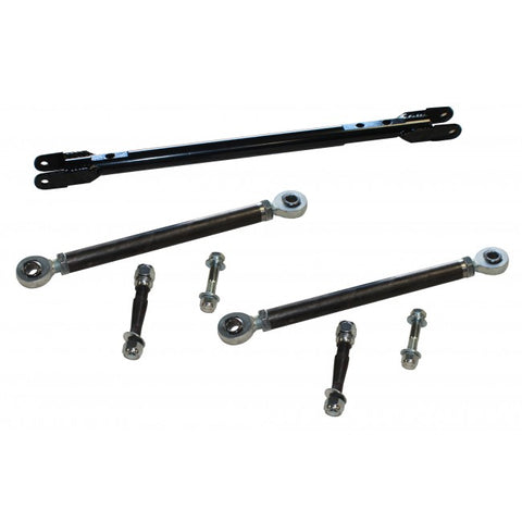 HEAVY DUTY HEIMS JOINT STEERING KIT W/ STEERING BAR - Chevy / GMC 11-13 2500HD / 3500HD