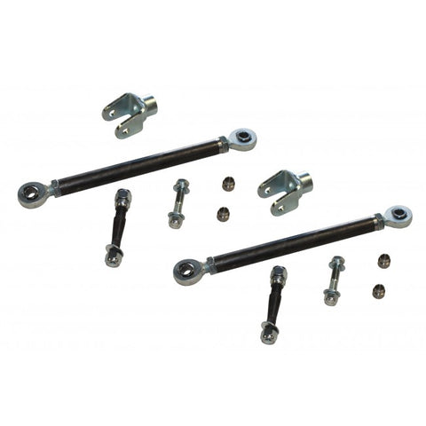 HEAVY DUTY HEIMS JOINT STEERING KIT W/ U BRACKETS - Chevy / GMC 11-13 2500HD / 3500HD