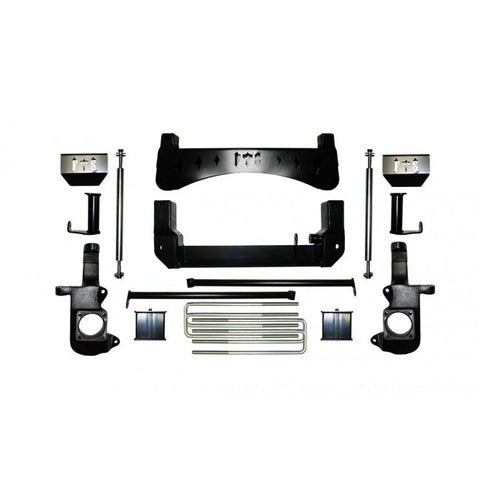 "2001-2010 7"" CHEVY / GMC SILVERADO / SIERRA 1500HD / 2500HD 2WD NON DUALLY W/ REAR BLOCKS"