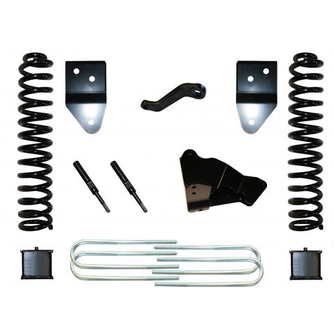 "2005-2007 FORD F350 6"" BASIC KIT W/ REAR BLOCKS"