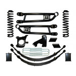 "2008-2013 FORD F250/F350 10"" RADIUS ARM KIT W/ REAR SPRINGS & CROSSOVER STEERING"