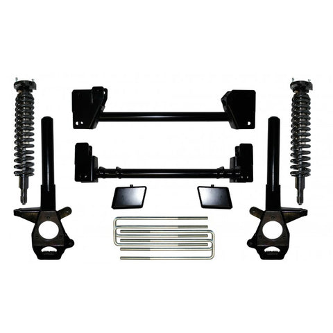 "2004-2011 Nissan Titan 7"" 2WD LIFT KIT W/ COILOVERS"