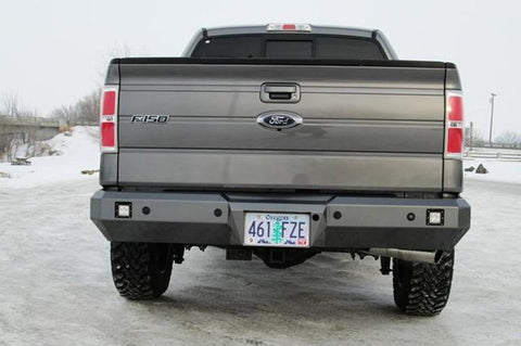 Ford Rear Bumper F-150 without back up sensors, 2015-2019