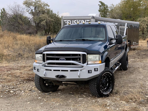 Ford Front Bumper Super Duty & Excursion, 1999-2004