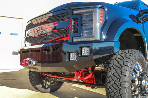 Ford Front Bumper F-450 & F-550 without adaptive cruise control, 2017-2019