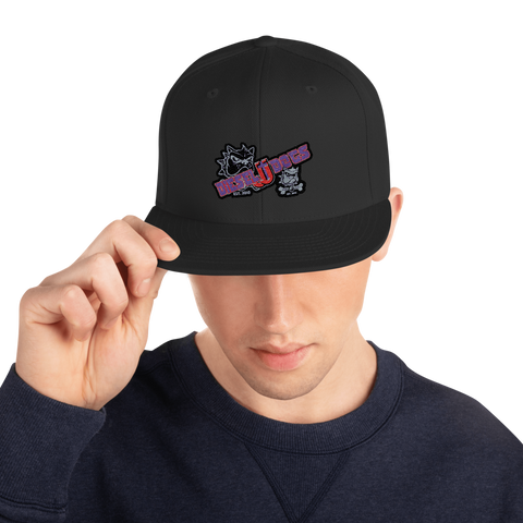 Diesel Dog Hat - Black w/ Purple Logo