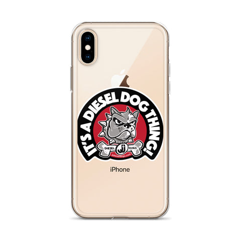 Diesel Dog Phone Case - iPhone X,XS