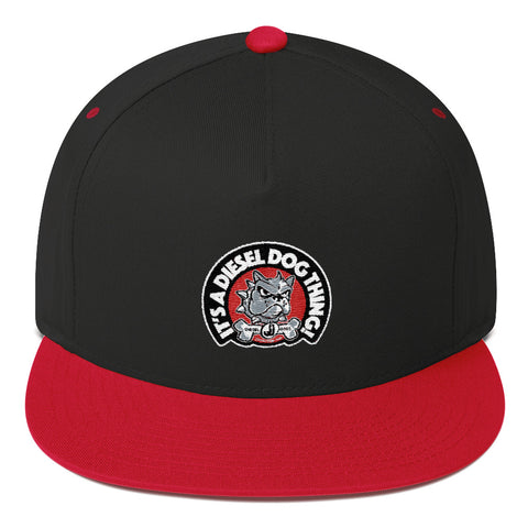"Diesel Dog Hat - Black / Red - ""It's a Diesel Dog Thing"""