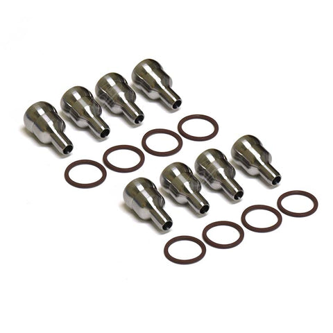 XDP 6.0L High Pressure Oil Rail Ball Tubes (Set Of 8) XD213 - 2004.5-2007 Ford 6.0L Powerstroke