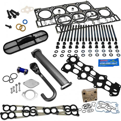 XDP Powerstroke Solution with Black Diamond Head Gaskets | XD148- 2003-2007 Ford 6.0L Powerstroke