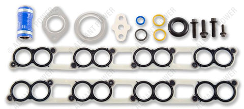 Exhaust Gas Recirculation (EGR) Cooler Intake Gasket Kit - 6.0L And 4.5L Ford Powerstroke, NAVISTAR VT365, VT275, MAXXFORCE 5