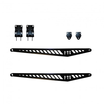 "63"" BOLT ON TRACTION BAR KIT BOXED STYLE (SHORT BED) -  Chevy / GMC 11-13 2500HD 3500HD"