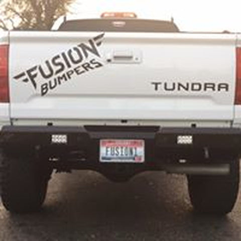 Toyota Tundra Rear Bumper with back up sensors, 2014-2019