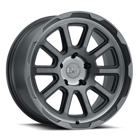 BLACK RHINO CHASE BRUSHED GUNMETAL