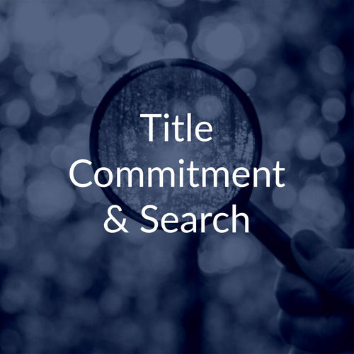 Real Estate Title Search