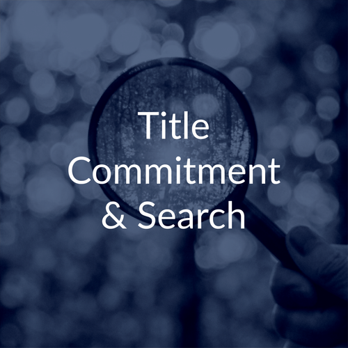 Title Commitment & Search: Full Report