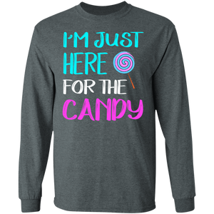 I'm Just Here For Candy T-shirt