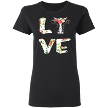 Load image into Gallery viewer, Funny Love Cow T-shirt