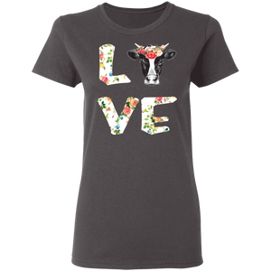 Funny Love Cow T-shirt