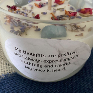 Embrace Your Voice designed to inspire your throat chakra