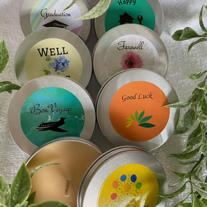 Event Soy Wax Candle Travel Tin