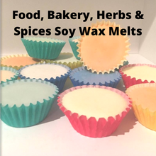 Load image into Gallery viewer, Food, Bakery, Herbs & Spices Scented Soy Wax Melts